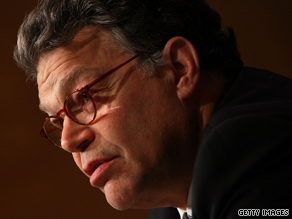 'I know progressives are frustrated...because it feels at times not everyone in our party is pushing at the same pace,' Democratic Sen. Franken said Saturday night at the annual Netroots Nation convention.