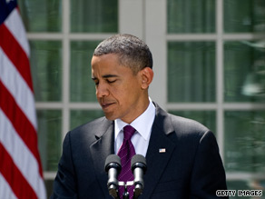 President Obama on Monday criticized Republican opposition to a Senate campaign financial reform bill.