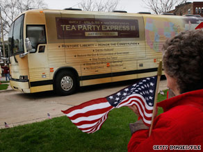 The Tea Party Express announced Tuesday that they are endorsing Christine O'Donnell, who is battling Rep. Mike Castle for the GOP Senate nomination in Delaware.