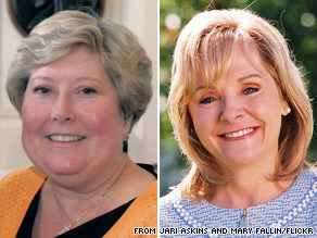 Democrat Jari Askins (left) and Republican Mary Fallin (right) each secured their party's nomination and will face off in Oklahoma's gubernatorial election.