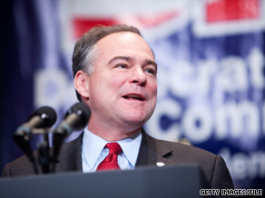 DNC chairman Tim Kaine launched a new initiative Wednesday that targets the GOP as the midterms approach.