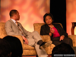 Shirley Sherrod spoke Thursday at the National Association of Black Journalists convention in San Diego.