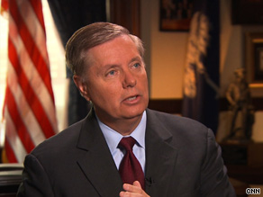 About President Obama and Afghanistan, Sen. Graham told CNN, 'He's got a political problem. But we've got a national security problem.'