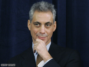 Rahm Enanuel will host a fundraiser for Rep. Kendrick Meek.