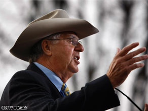 Dick Armey says he won't be running for president in 2012.