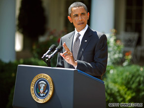 President Obama is holding a press conference Friday at the White House.
