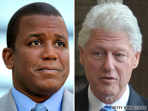 Former President Bill Clinton has been friends with Florida Rep. Kendrick Meek for nearly 20 years.