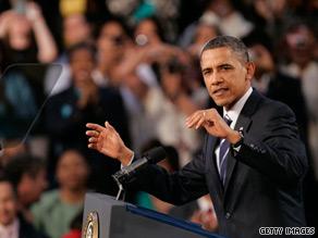 President Obama will travel to Wisconsin, Pennsylvania, Ohio and Nevada.