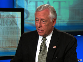 House Majority Leader Steny Hoyer expressed confidence Sunday in Democratic congressional candidates.