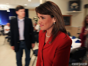 Could Christine O'Donnell's victory in Delaware help Democrats fundraise?