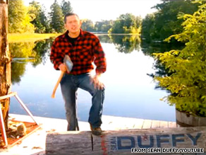 Wisconsin Congressional candidate Sean Duffy is out Thursday with a new ad.