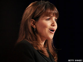 Senate candidate Christine O'Donnell at the Values Voter Summit on September 17.