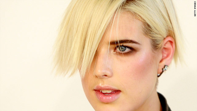 Agyness Deyn has been the face of Giorgio Armani, Hugo Boss and Burberry.