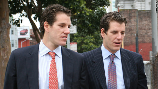 Cameron (left) and Tyler Winklevoss have decided to end their ongoing legal battle against Facebook founder Mark Zuckerberg.