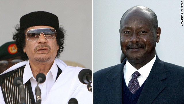 Uganda's President on the Gadhafi he knows
