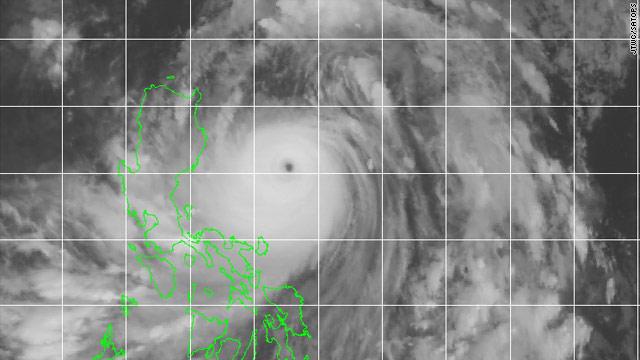 Super typhoon churns through Pacific, threatens Okinawa