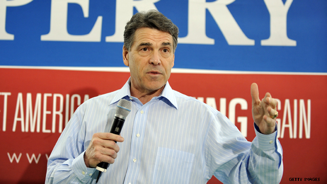 image: Rick Perry drops out