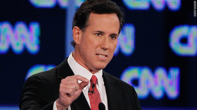 Santorum promises high road, 'We'll beat them straight up'