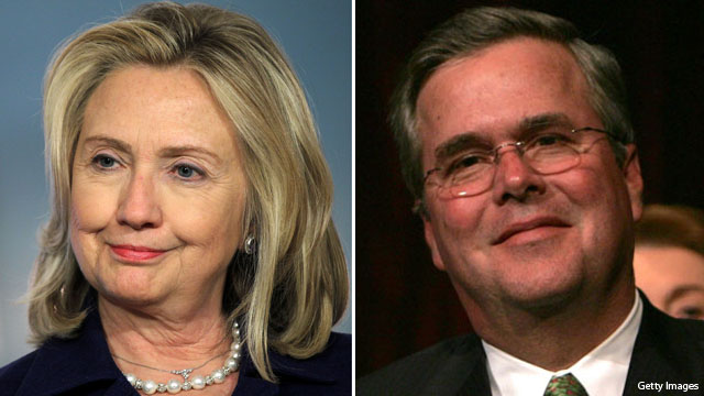 Jeb Bush, Hillary Clinton together again to talk education