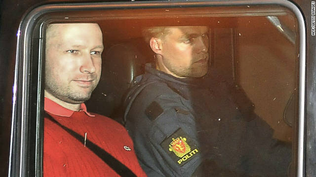 Norwegians angry terror suspect deemed insane, want him to face prison time