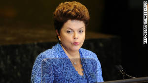 Brazile\'s new President Dilma Rousseff is less inclined to side with Iran than her predecessor.