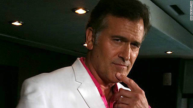 Bruce Campbell's secret blood recipe and other horrible makeup
