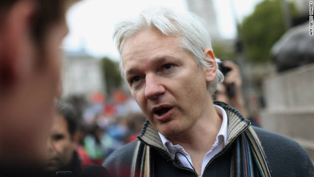 Julian Assange, pictured here on October 8, 2011, is the founder of WikiLeaks, which facilitates the anonymous leaking of secret information.