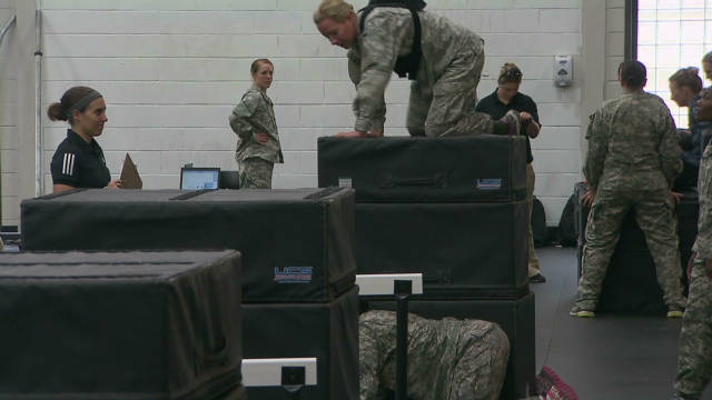 New frontier for military women serving with elite unit