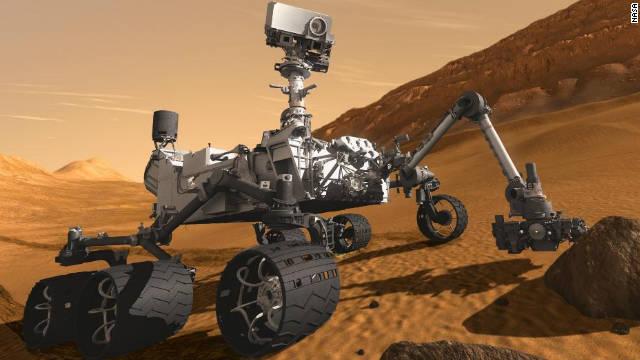 """El """"Curiosity"""" buscará pruebas de vida en un misterioso cráter de Marte"""