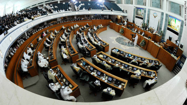 Saliente primer ministro de Kuwait y el gabinete se quedará en una capacidad de interino hasta que un nuevo gobierno es formado.