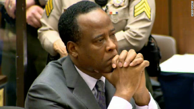 Conrad Murray is serving a four-year sentence for involuntary manslaughter in Michael Jackson's death.