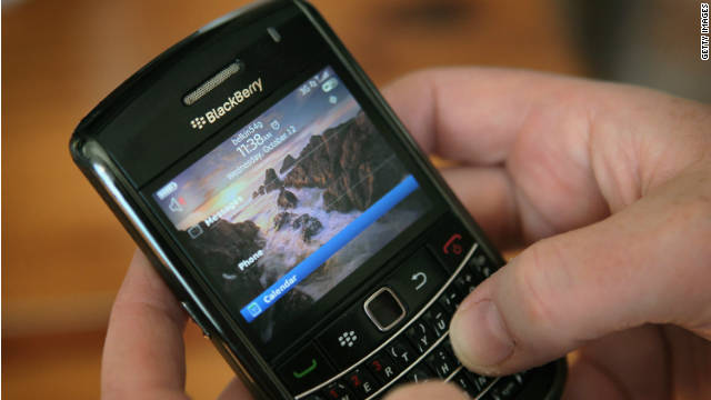 It was not a good year for BlackBerry and maker RIM, whose stock price plunged in 2011 and shows no signs of rebounding.