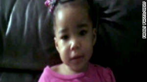 Detroit police are searching for 2-year-old Bianca Jones, who has been missing since Friday.