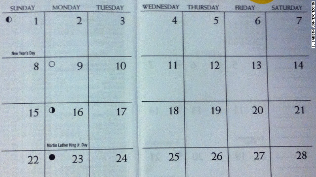 Johns Hopkins professors propose a calendar in which each date falls on the same day of the week as it did the year before.