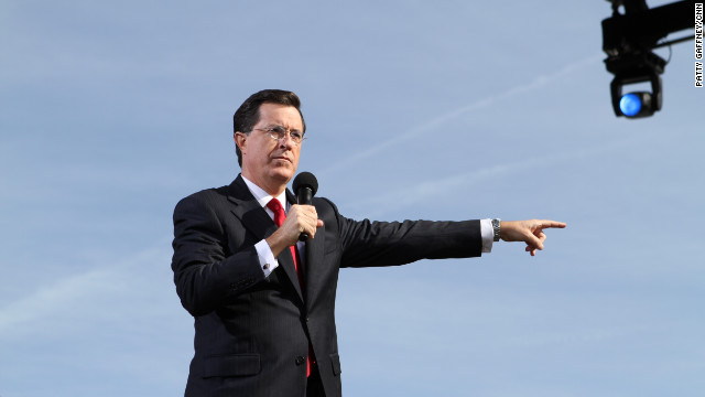 Stephen Colbert, Rally to Restore Sanity and/or Fear, Washingto D.C.
