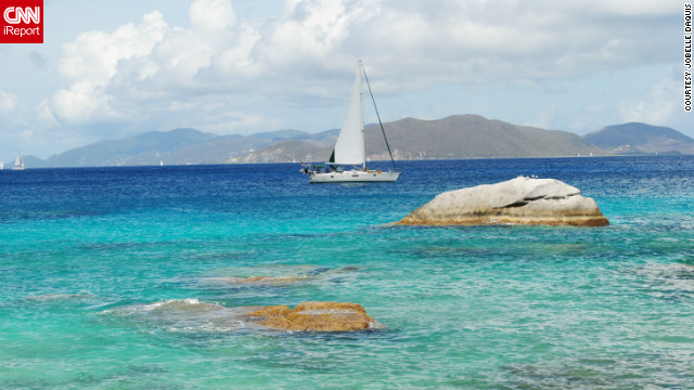 <br/>Jobelle Daquis lives in the British Virgin Islands and took this photo of sailing in Spring Bay, Virgin Gorda.