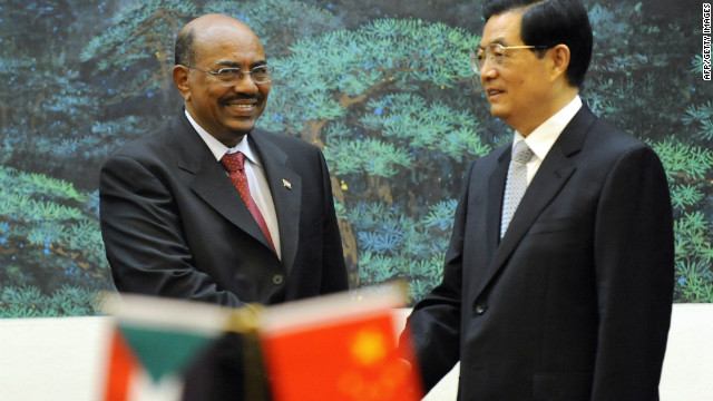 The visit to Beijing by President Omar al-Bashir (L) last year was a sign of the growing ties between Sudan and China.