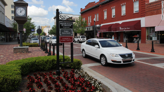 Beyond Sanford's historic downtown is a town where nearly everyone has a different viewpoint on the Trayvon Martin case.