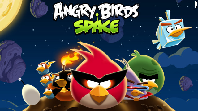"""Security analysts have found fake versions of """"Angry Birds: Space"""" that contain potentially harmful malware."""