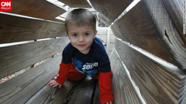 """Reed Williamson was 3 years old when he called his father """"Daddy"""" instead of """"juice box."""" His mom, Lindsay, said, """"At 2, when he was first truly diagnosed, we had no idea of where he would go or what he would do."""""""