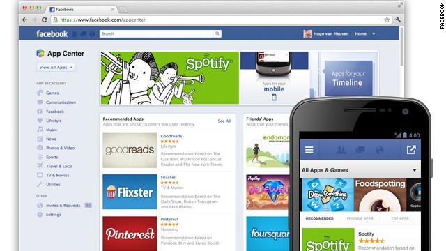 Facebook abre su tienda de aplicaciones