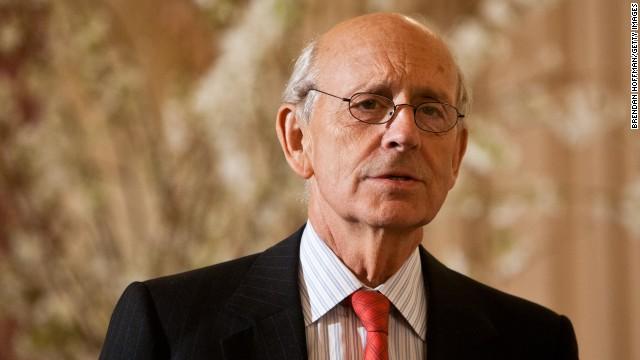 U.S. Supreme Court Associate Justice Stephen Breyer in March 2012.