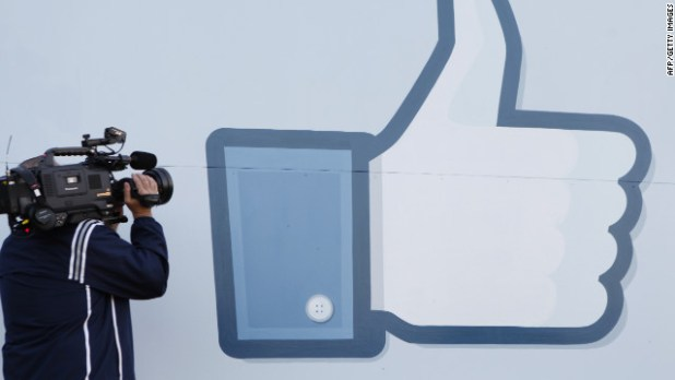 Say goodbye to the thumb. The Facebook