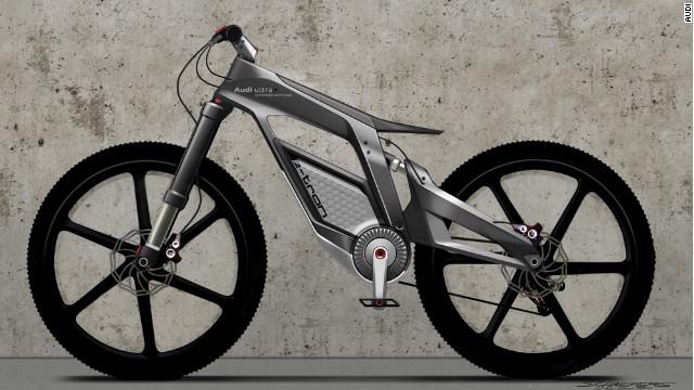 Audi presenta su e-bike, una bicicleta futurista de alto rendimiento