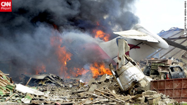 Photos: Recent major plane crashes