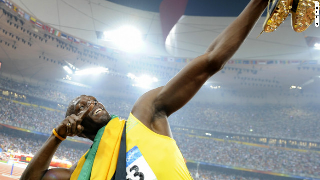 Gold running: Jamaican sprinters on top