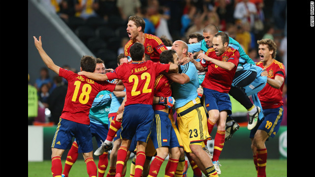 Euro 2012 final: Can Italy stop Spain's bid for history? - CNN.com