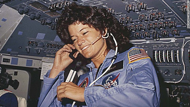 Sally Ride astronaut and feminist