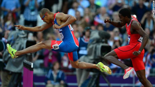 El dominicano Félix Sánchez gana la medalla de oro en los 400 metros con vallas