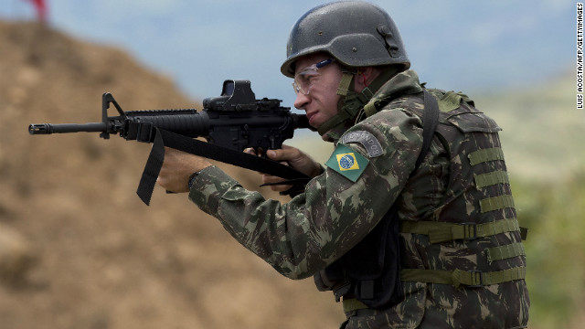 Brazil Sends Troops To Border To Fight Crime  Cnncom